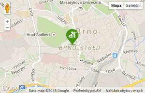 Brno Pure Body mapa