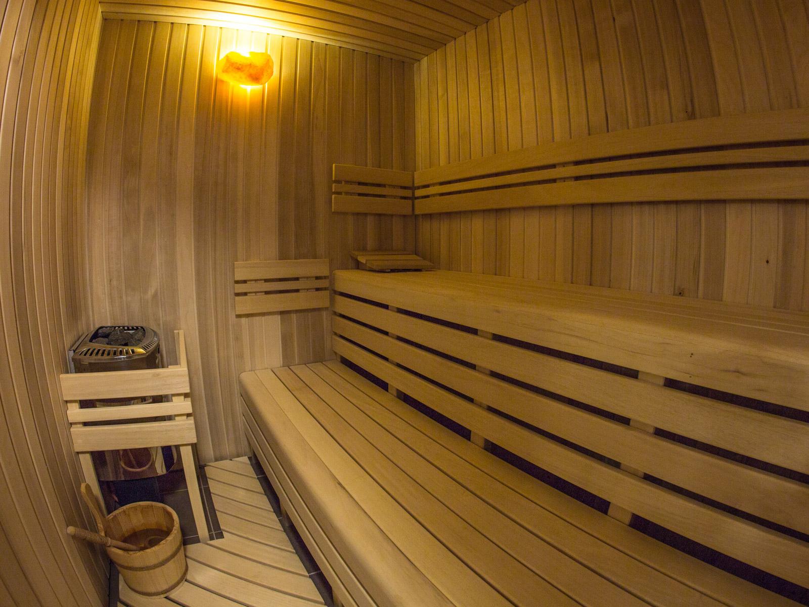 Sauna hotelu Erika
