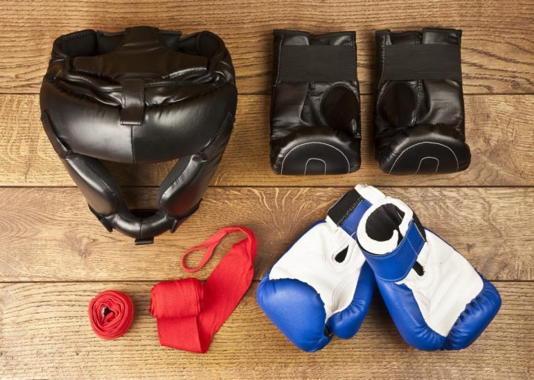 Vybavení pro bojové sporty