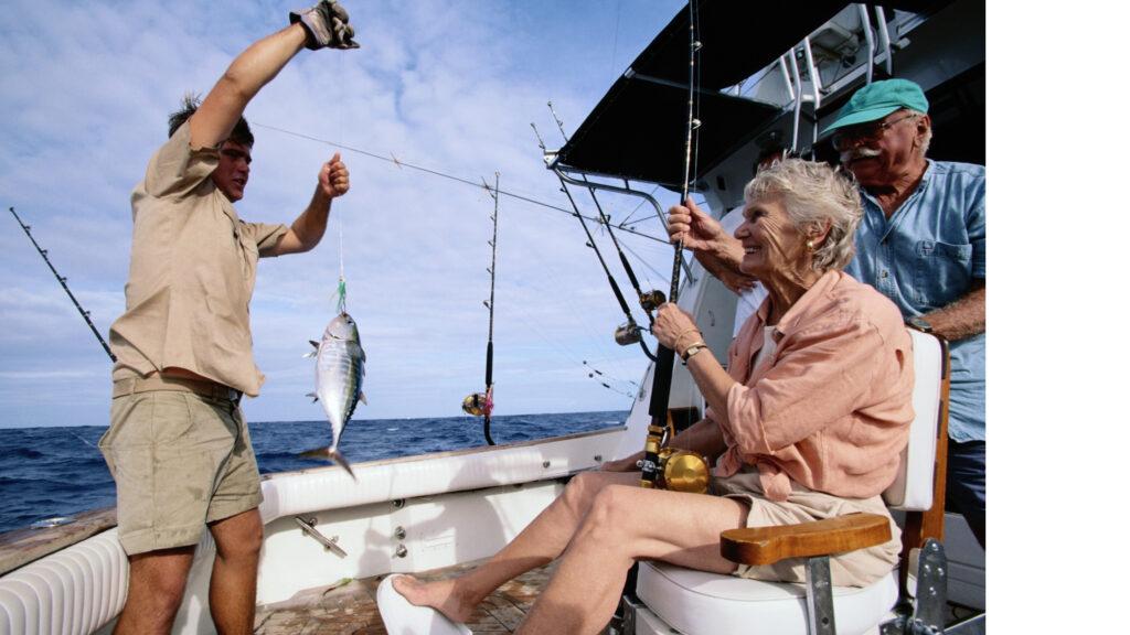 Rybaření postižených