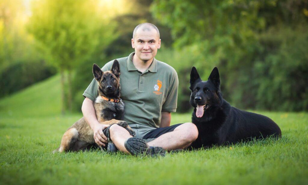 Radoslav Chlup a psi